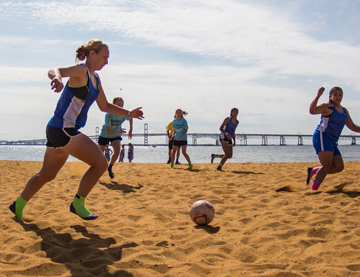 Sand Soccer Exhibition